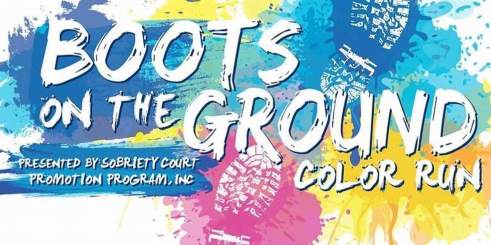 Boots on the Ground Color Run