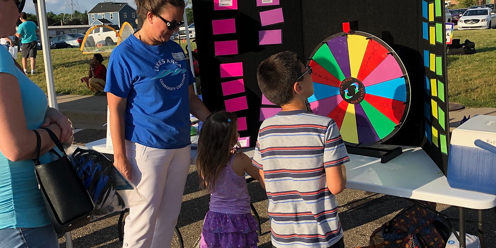 Wixom Family Fun Night Volunteer June 17