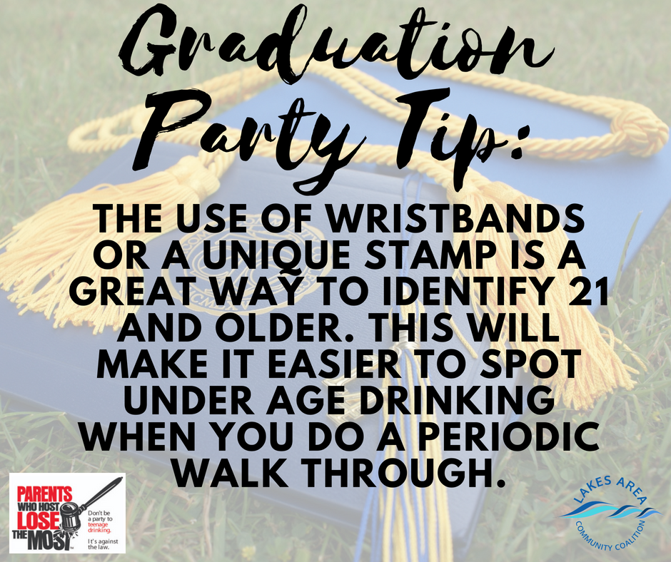 Graduation Party Tip4