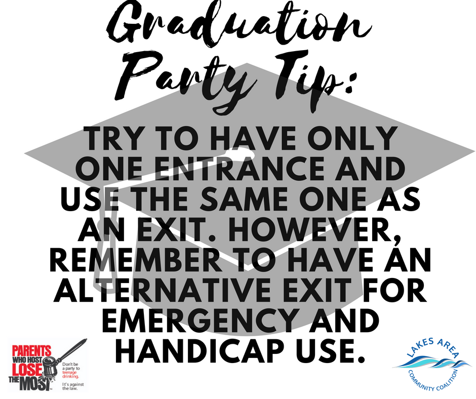 Graduation Party Tip5