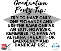 Graduation Party Tip5