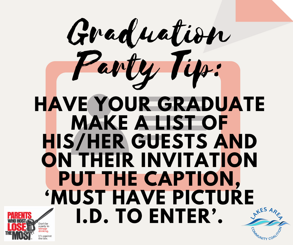Graduation Party Tip3