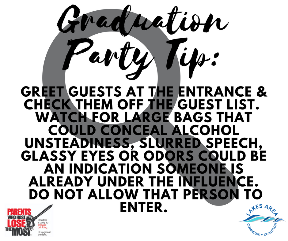 Graduation Party Tip6