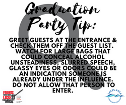Graduation Party Tip6
