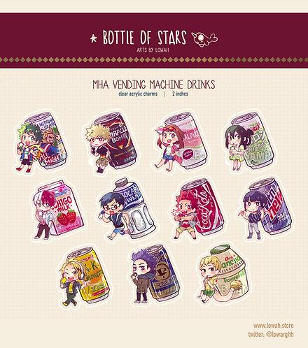 Charms✩MHA Vending Machine Drinks