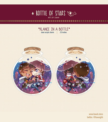 Charms✩Klance in a Bottle