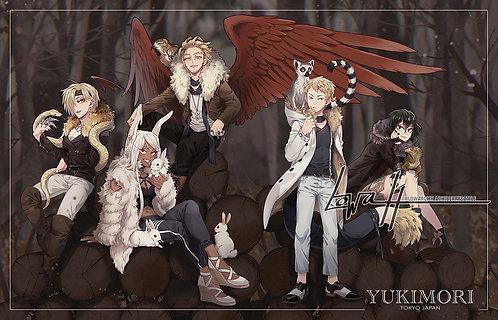 """11x17"""" Poster✩MHA Arise: Yukimori"""