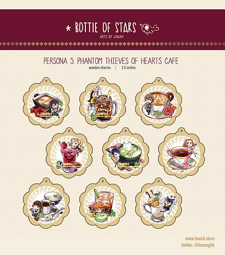 Charms✩Persona 5 Cafe