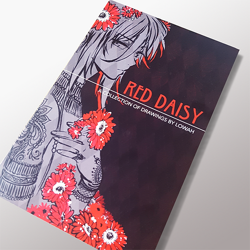 Red Daisy: a Collection of Drawings by Lowah