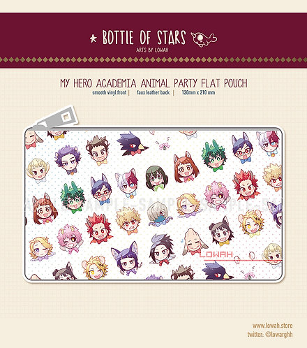 Pouches✩MHA Animal Party