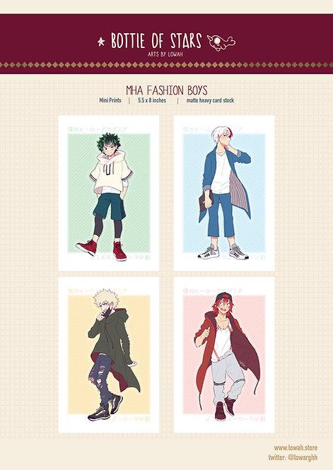 Mini Prints✩MHA Fashion boys