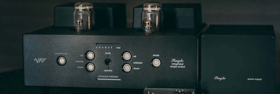 NAT Audio Single HPS - Integrated Class A S.E.T. AMP
