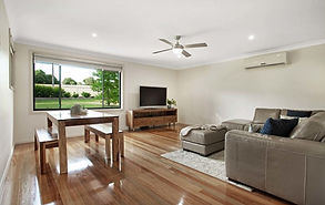 Lounge renovation and floorboards