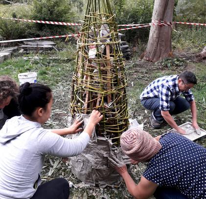 Paper Kiln Build 2018