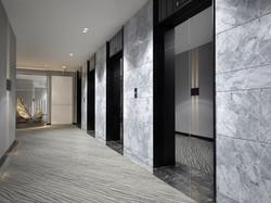 Bay Capitol lift lobby