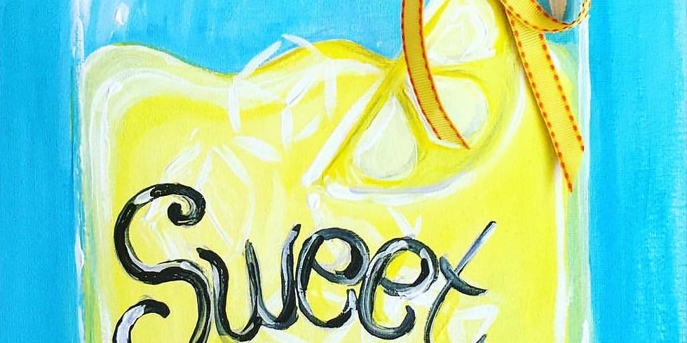 LIVE Sweet Summertime Painting Class