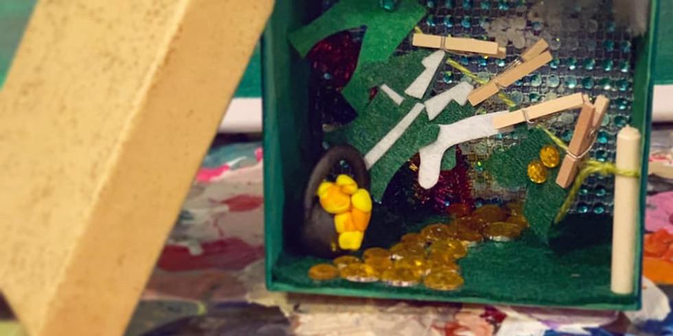 Build Your Own Mini Lucky Leprechaun World