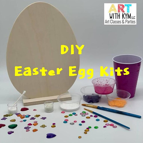DIY Wooden Easter Egg Kit