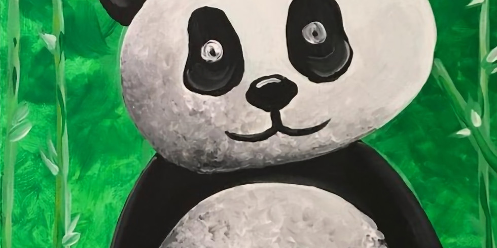 LIVE Guided Panda Painting
