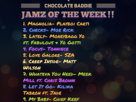 Jamz of the Week!