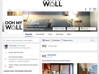 Oohmywall en Facebook