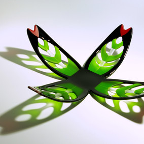 contemporary maori glass art maori design kiln fused glass