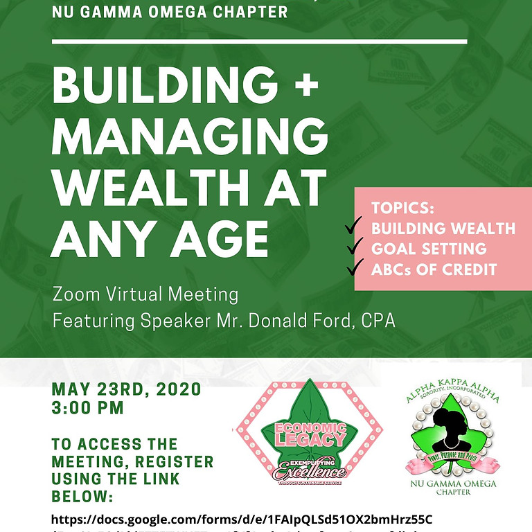 Managing Wealth At Any Age