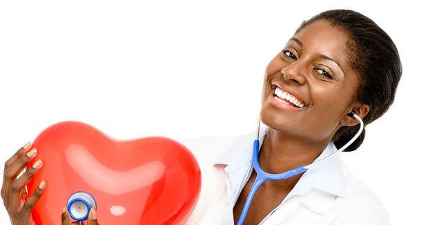 African American Woman Holding Heart.jpg