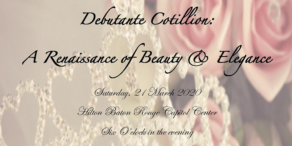 Nu Gamma Omega Debutante Cotillion-Donations-Tickets Available Now