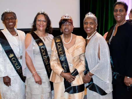 The Beautiful Silver And Golden Sorors Of Nu Gamma Omega