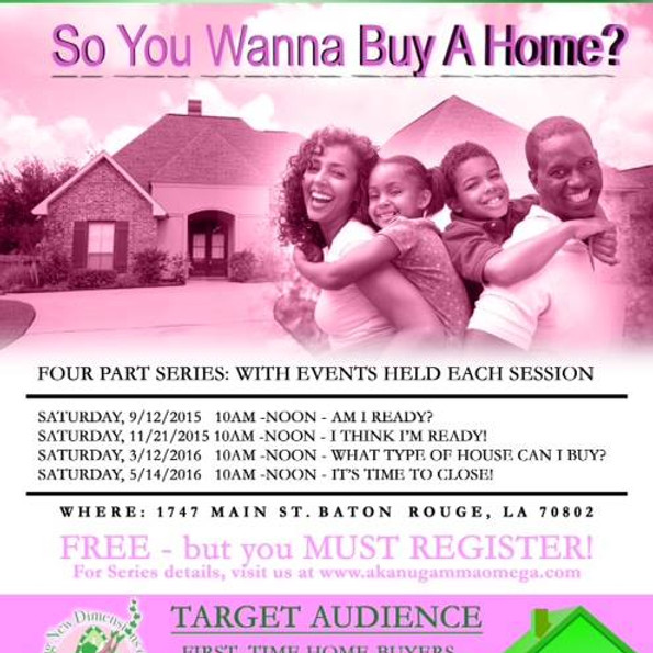 FIRST TIME HOME BUYER-CREDIT BUILDING WORKSHOP