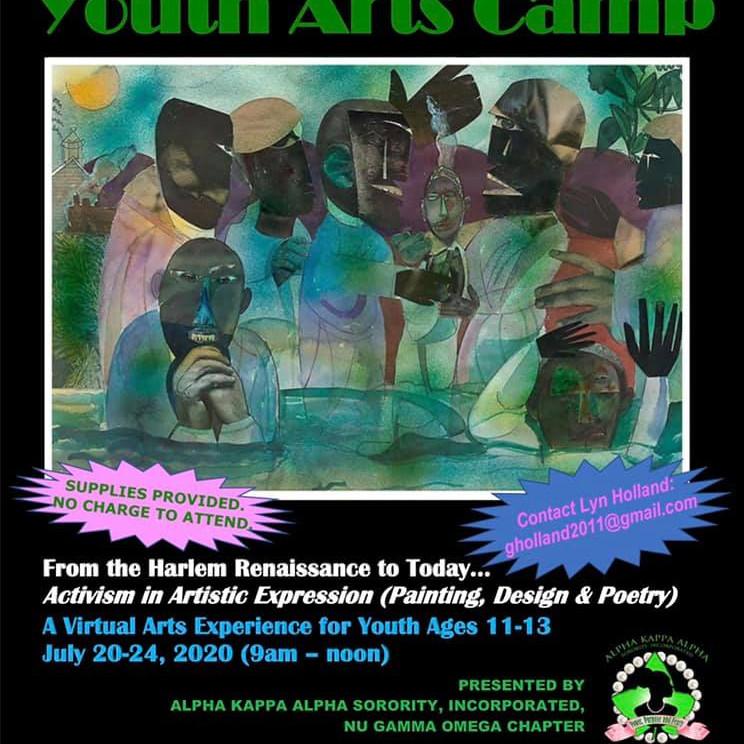 Harlem Renaissance Virtual Arts Camp