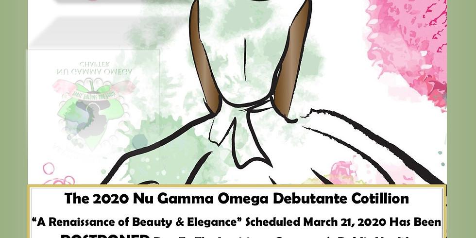 Nu Gamma Omega Debutante Cotillion