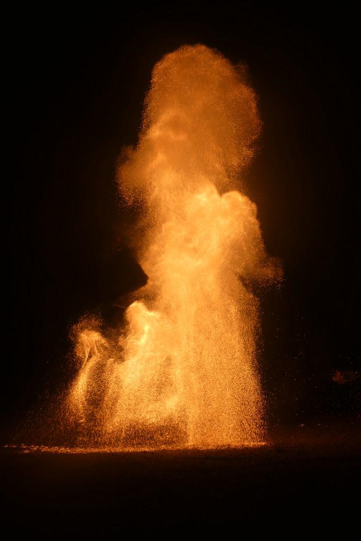 Scène feu