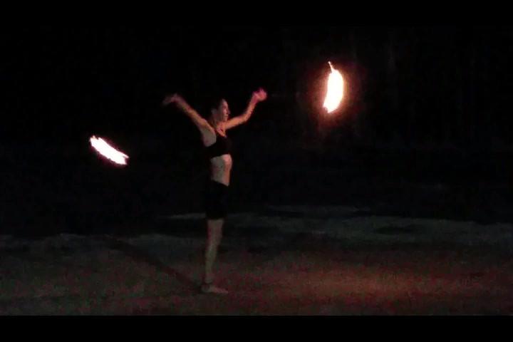 spectacle feu