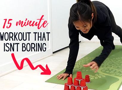 15 Min Non-Boring Home Workout