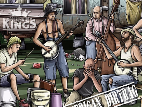 DOUBLEWIDE KINGS RELEASE FOURTH LIVE ALBUM - AMERICAN DIRTBAG
