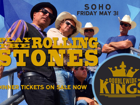 """The Kings """"Play the Rolling Stones"""" @ SOHO This Friday"""