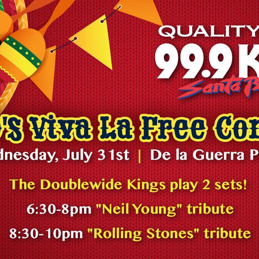 KTYD Opening Night - Viva La Free Concert - Santa Barbara Fiesta