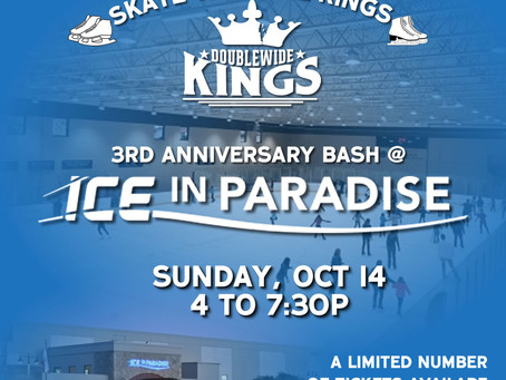 SKATE WITH THE KINGS - ICE IN PARADISE