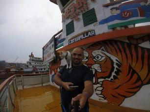 "Camino a la montaña vieja parte 2 ""Iquitos, Perù - Pucallpa,Perù""."