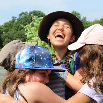 Eden Village Camp kids