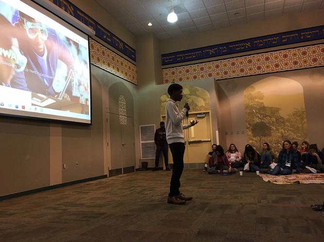 Keynote Speaker from STEAM Onward, Bryans Road, MD
