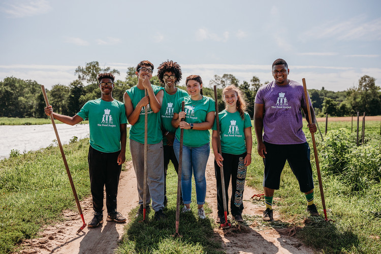 The Food Project Root Crew. Photo: Lyndsay Hannah PhotographThe_Food_Project_Root_Crew_Credit_Lyndsa
