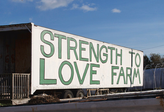 Photo: Matty Ice at Strength to Love Farm, Baltimore, MD