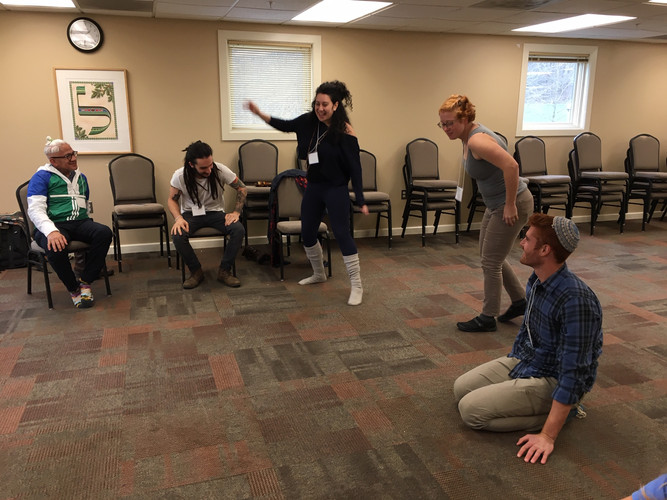 Movement break at the 2019 FBEN Conference