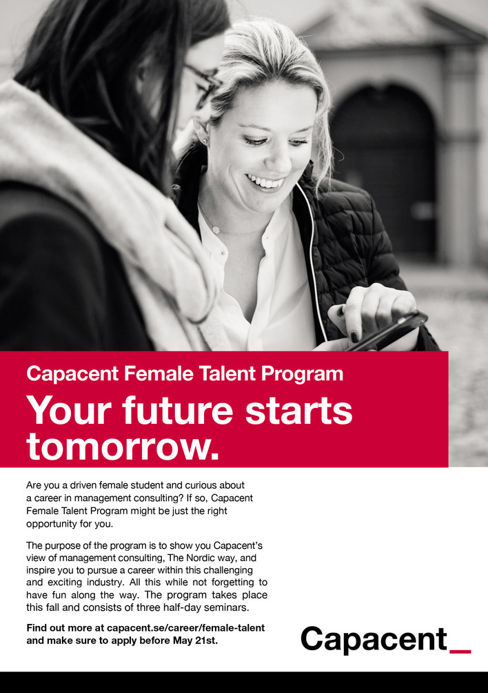 Capacent Female Talent Program 2017