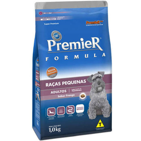 Ração Premier Pet Formula Cães Adultos Raças Pequenas - 1 Kg