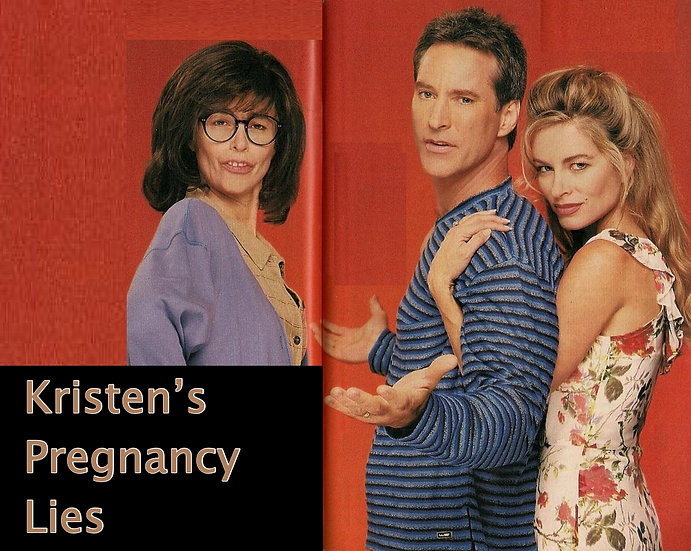 Kristen's Pregnancy Lies - Days of Our Lives