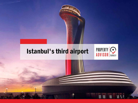 Istanbul's third airport is one of the world's largest airports today
